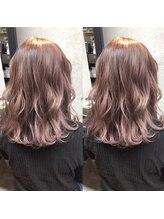 ヘアーティズム ナラマチ(hair-TISM Naramachi)ピンクパープルでツヤ感、透け感