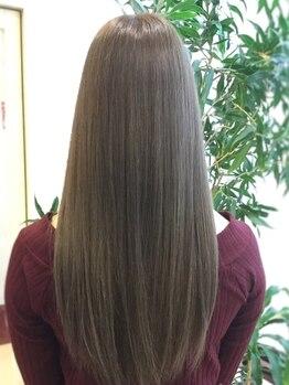 エルエスビー(LSB hair lab)の写真/平日限定【うるツヤWカラー+カット+ メモリアトリートメント¥11550】ゆったり落ち着いた空間をL,S,Bで*