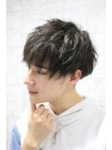 グラスヘア 流川店(Grass Hair)ツイスト風マッシュ