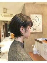 シャインヘア ラテ 新百合ヶ丘(Shine hair latte)Daisuke丸みショートボブ