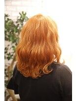 ヘア イコール(hair equal)S/S オレンジ