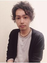 ネオヘアー 京成曳舟店(NEO Hair)斎藤工風☆ワイルドパーマスタイル