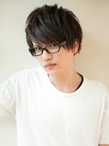 AFLOAT《矢田菜津紀》メンズメガネが似合う◎ビジネス髪型
