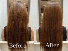 髪質改善専門サロン『美髪革命CELESTE』の豊富な髪質改善トリートメントメニューを実感!【下北沢】