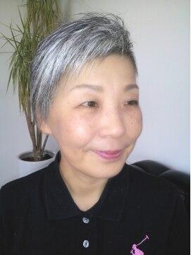 ヘアー ページ イッコ(HAIR PAGE ICCO)ミセス・ツーブロックアシメ