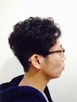 ポッシュ 門前仲町(HAIR&MAKE POSH)Men'sスタイル(強めのくせ毛を活かしたスタイル)