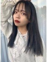 リリー(Lilley)【lilley 高田彩乃】オルチャン☆ツヤ感暗髪風カラー(天神/今泉)