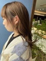 クブヘアー(kubu hair)《クブヘアー》うぶhair×グレージュカラー