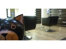 トラオムヘアー(TRAUM HAIR)の雰囲気(ゆったりした椅子。)
