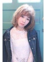 シレーナ ヘアーリゾート(Sirena Hair Resort)厚めバング☆ゆるふわミディ・ボブ