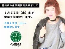 ALBELY hair&spa 豊川駅前店【アルベリー ヘアーアンドスパ】