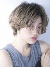 ビジョンアオヤマ (VISION aoyama)【VISION】アッシュグレージュ×ウェットショート