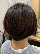 ヘアーカルチャー おゆみ野店(HAIR CULTURE)自然な丸みショートヘア