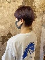 マギーヘア(magiy hair)magiyhair【nico】下北沢ハンサムショート ラベンダーカラー