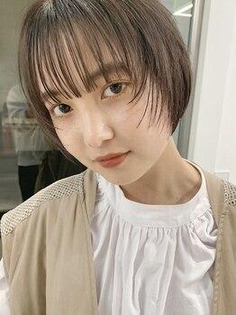 シキ 渋谷(siki)の写真/《* ショートヘアは一番女性らしさがでる *》sikiのカットで最大限に魅力を開放。[原宿/表参道/ハイライト]