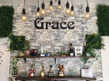 グレイス(Grace)の写真/カットカラーコンクールグランプリ30回の実力派×癒し系サロン♪全国誌《美st》にも掲載されました☆