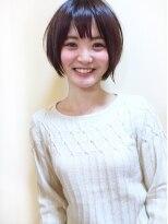 【morio池袋】可愛いエフォートレス黒髪ショートボブ
