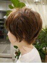 ヘアー カラー キー(HAIR color KEY)オトナ可愛いスウィートショート<NO.2>