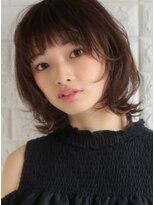 キース ヘアアンドメイク(kith. hair&make)恵比寿kith.本田×外ハネ とろみ ふわミディ