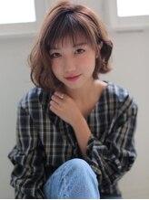 アグ ヘアー ニウ(Agu hair niu)ラフ&エアリーなウェーブショート