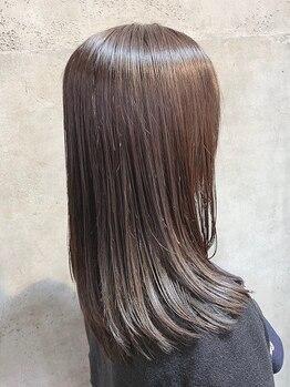 ディ シェーレ 磯子本店(die schere)の写真/お客様一人ひとりのための髪質改善TRを多数ご用意♪見て、触ってワンランク上のキレイが実感できる◎