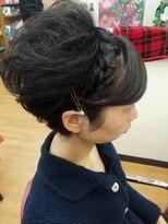 ウェディングヘアセット