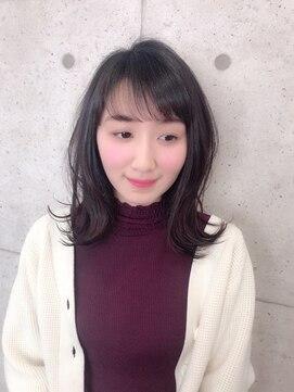 グランヘアー 神居店(GRAN HAIR)【GRAN HAIR 神居店】シースルー×外ハネロブ