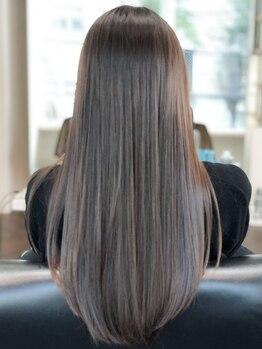 ニーフ 恵比寿(neaf)の写真/サイエンスアクアTRで美髪チャージ☆独自工程の〈nanoスチーム+10STEP贅沢Treatment¥3300〉も◎
