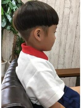 シャルマンフォーヘア(Charmant for hair)の写真/お子さまと一緒に髪を切るならCharmant for hairがオススメ◎ふらっと気軽に寄れるお子さま同伴OKサロン♪