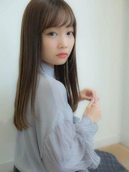 ガレリアエレガンテ 植田店(GALLARIA Elegante)の写真/【植田◆NEWOPEN】髪の悩みに応える極上ストレート。あなた史上最高の手触り、つややかな髪に。