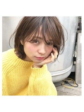 アンアミ オモテサンドウ(Un ami omotesando)【Un ami】《増永剛大》  大人おしゃれ/モテ可愛い/ボブパーマ