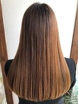 ヘアー リラクゼーション アンヴィ(Hair Relaxation anvi)さらさらストレートスタイル