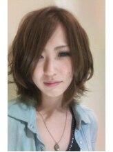 ウルーウール ヘアーアンドリラクゼーション(HEUREUX HEURE hair&relaxation)グラ&レイヤーstyle ボブAIR