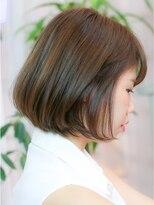 エトネ ヘアーサロン 仙台駅前(eTONe hair salon)【eTONe】まとまるナチュラルショートボブ