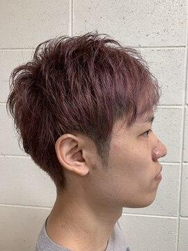 ヘア デザイン リブレ(Hair Design Libre)ハイトーンカラーツーブロック