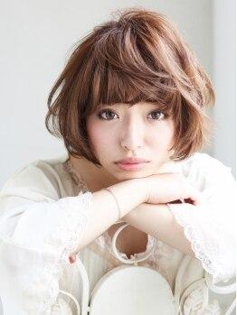 ミル ヘアー デザイン(mille hair design)の写真/あなたの顔の形・頭の形・顔の表情などから『なりたいスタイル』を『似合うヘアスタイル』に!