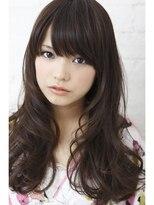 ミンクス ハラジュク(MINX harajuku)デジタルパーマで柔らかく、艶っぽい女性らしいウェーブヘアに
