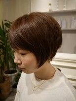 ヘアー カラー キー(HAIR color KEY)ナチュラルマッシュショート<NO.1>