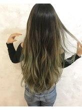 ヘア ラボ ニコ 藤沢店(hair Labo nico...)バレイヤージュ