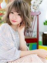 カバーヘア ブリス 北浦和西口店(COVER HAIR bliss)*bliss北浦和*色っぽフェミニン♪くせ毛風シフォンウェーブa