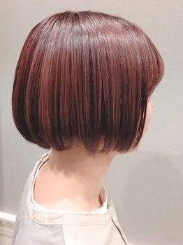 ハジメ(HAJImE)の写真/日本人の骨格に合わせたカット技術◇すきばさみを使用しない他のサロンとは違う技術で、手触りのいい髪に。