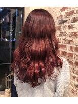 ヘアー アイス カンナ(HAIR ICI Canna)春色ピンクカラー