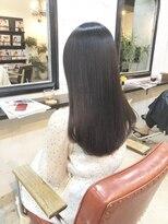 エトネ ヘアーサロン 仙台駅前(eTONe hair salon)【eTONe】スーパーナチュラルストレート