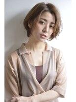 ボヌール 西梅田店(Bonheur)【女性stylist杉崎】シンプル大人ショート