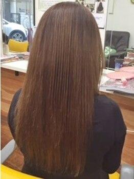 スマイルサロン(Smile Salon)の写真/【1:5(イチ・ゴ)カラー】国内でも特に明るく染まる白髪染め☆40歳からの大人女性に!ダメージレスな仕上がり