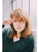 【GrandChariot 笹塚】ランダムカールのセミディスタイル