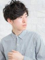 ヘアサロン ナノ(hair salon nano)大人カジュアルなランダムパーマスタイル