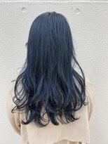 センスヘア(SENSE Hair)【暗髪】ネイビーブルー☆