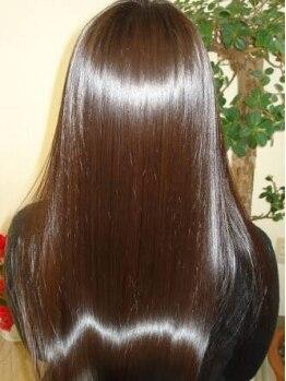 クオーレ 荒川沖店(CUORE)の写真/【荒川沖駅前】髪と頭皮の原理に基づいた究極美髪創り【LABトリートメント】触れたくなる様な艶髪へ♪