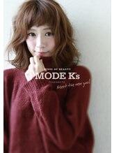 モード ケイズ 塚本店(MODE K's)うぶバング ミディアムデジタルパーマ【MODEK'S中村猛】